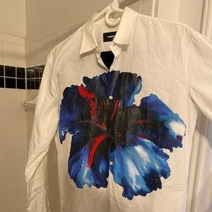 Dsquared2 shirt size 46 excellent condition